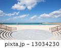 沖縄のビーチ 砂浜 沖縄の写真 13034230
