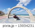 トロピカルビーチ 砂浜 沖縄の写真 13034231