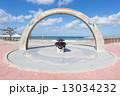 トロピカルビーチ 砂浜 沖縄の写真 13034232