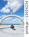トロピカルビーチ 砂浜 沖縄の写真 13034234