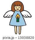 エンジェル ベクター 天使のイラスト 13038820