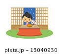 炬燵 蜜柑 猫  13040930