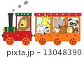 動物たちの鉄道の旅 13048390