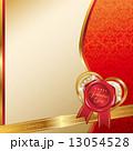 バレンタインデー背景 13054528