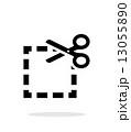 広場 正方形 スクエアのイラスト 13055890