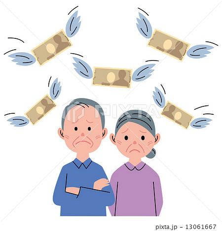 シニア カップル お金 13061667