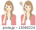 困る女性 13066224