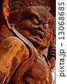 醍醐寺 西大門 仁王像 阿形 油絵風 13068685