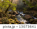 清流 菊池渓谷 川の写真 13073641
