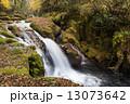 清流 菊池渓谷 川の写真 13073642