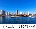 海 横浜 みなとみらいの写真 13076446