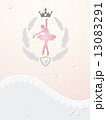 Ballerina's greeting card 13083291