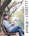 スマートフォン 男性 人物の写真 13083777
