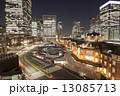 東京駅夜 13085713