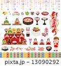 ひな祭り 13090292