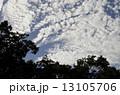 秋の雲 雲 秋空の写真 13105706