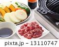 ジンギスカン 焼き野菜 焼肉の写真 13110747
