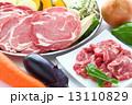 ジンギスカン 焼き野菜 焼肉の写真 13110829