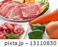 ジンギスカン 焼き野菜 焼肉の写真 13110830