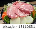 ジンギスカン 焼き野菜 焼肉の写真 13110831