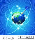 地球/日本列島にダーツの矢を当てる 13110888