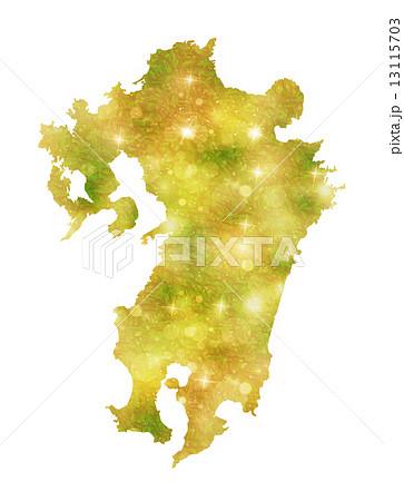 九州地図 九州 地図 13115703