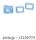 色鉛筆画 写真 カメラのイラスト 13130773