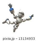 自由落下するロボット 13134933