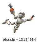 自由落下するロボット 13134934