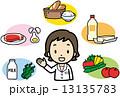 栄養士 ベクター 管理栄養士のイラスト 13135783