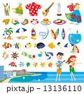 ハワイアイコン 13136110