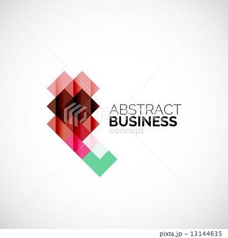 Square concept, company logo design elementのイラスト素材 [13144635] - PIXTA