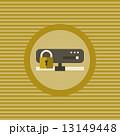 サーバー セキュリティ セキュリティーのイラスト 13149448