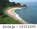 笹川流れ 485系 電車の写真 13151045