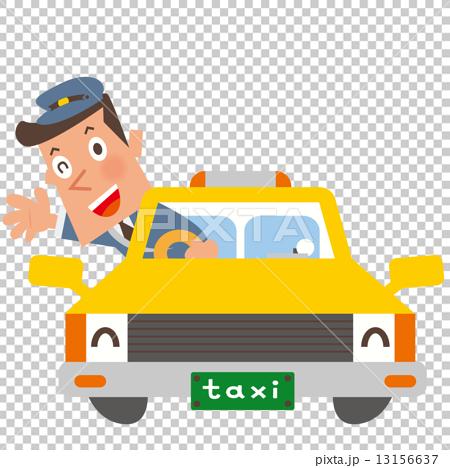 車_タクシー 13156637