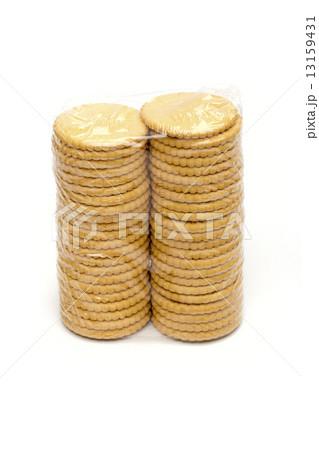 cookies on the white backgroundの写真素材 [13159431] - PIXTA