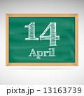 黒板 カレンダー 暦のイラスト 13163739
