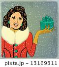 クリスマス 若い 若のイラスト 13169311