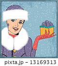 クリスマス 若い 若のイラスト 13169313