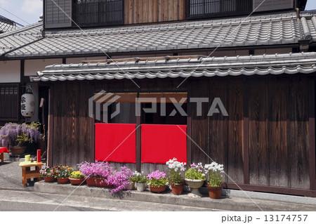 5月 日野町の古い町並み 滋賀の春景色の写真素材 [13174757] - PIXTA