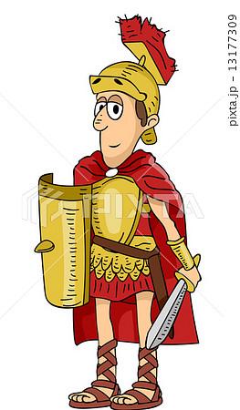 Roman soldier 13177309 pixta for Man arreda ragazzi roma