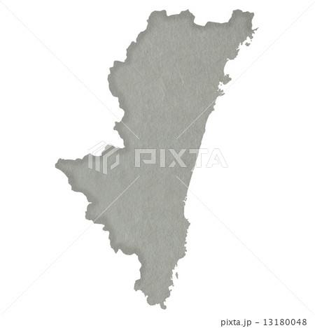宮崎県地図 13180048