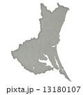 茨城県地図 県地図 茨城県のイラスト 13180107