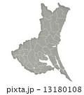茨城県地図 県地図 茨城県のイラスト 13180108