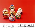 赤バックと七福神 13181988