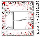 放射線 漫画 コマ割りのイラスト 13182156