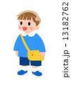 幼稚園児 幼児 男の子のイラスト 13182762