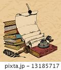 巻物 スクロール ブックのイラスト 13185717