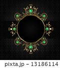 Jewellery black frame 13186114