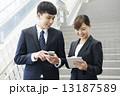 会社員 ビジネスパーソン 社会人の写真 13187589